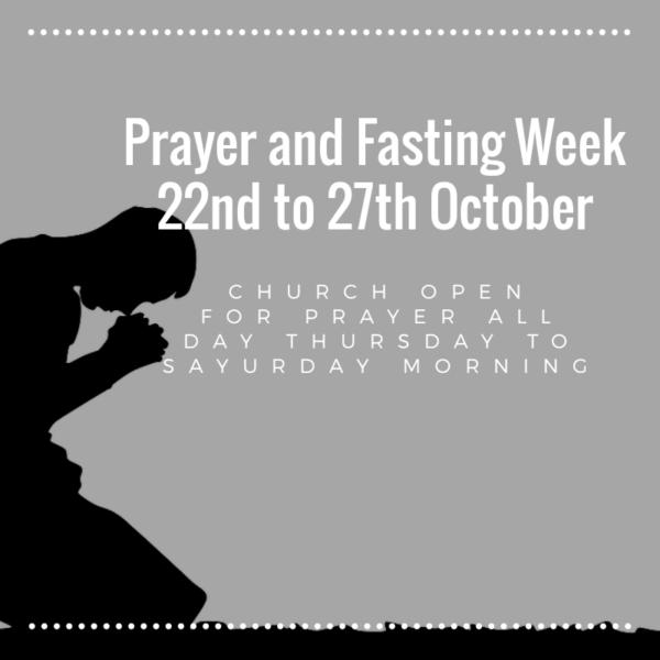 Prayer & Fasting Week