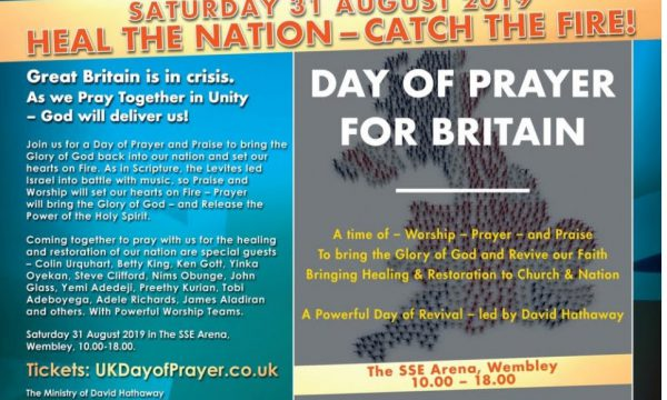Day of prayer for Britain