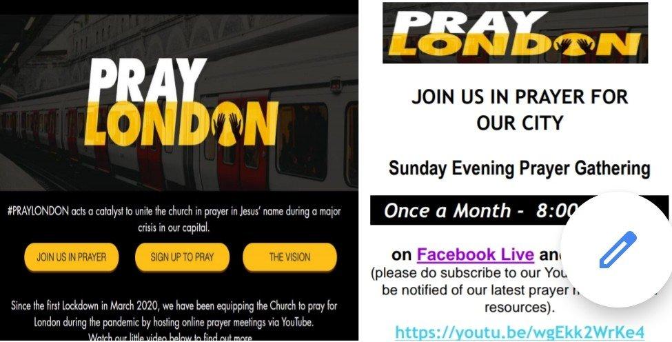 Pray London